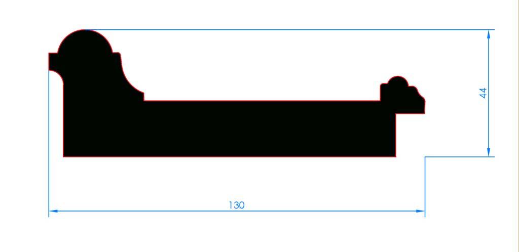 Saindoux Saugplatte Haut VCSp-O 140 x 130 mm
